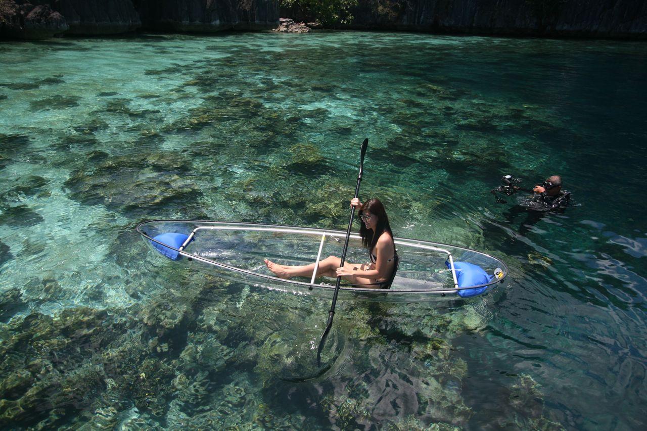clear kayak home design